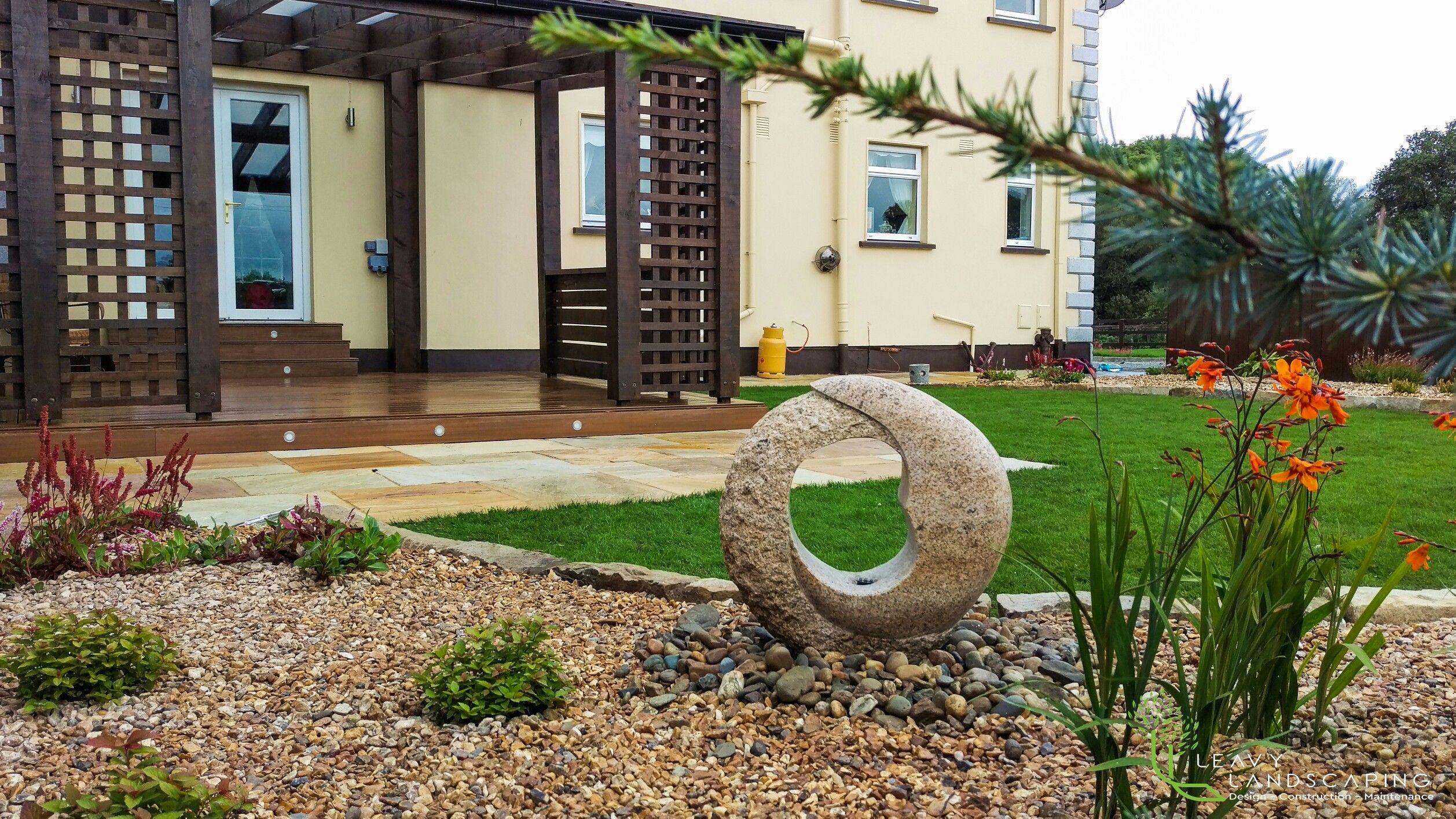 Wonderful Dark Oak Garden Pavilion In Curve And Lines . Garden Design, By Tom Leavy_  Leavy
