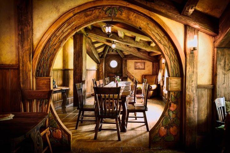 Hobbit Interior Interior Hobbit Hole Nz Movie Houses