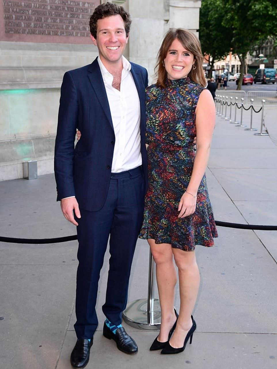 Princess Eugenie is engaged to Jack Brooksbank (With