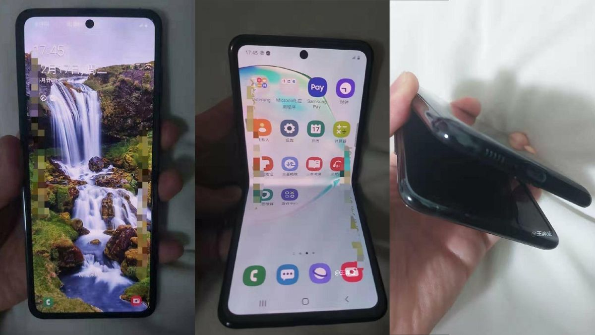 Galaxy Fold 2 images shows a look-alike phone as Motorola Razr