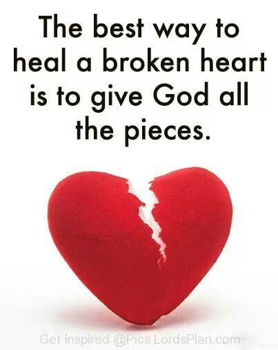 Best Way To Heal A Broken Heart