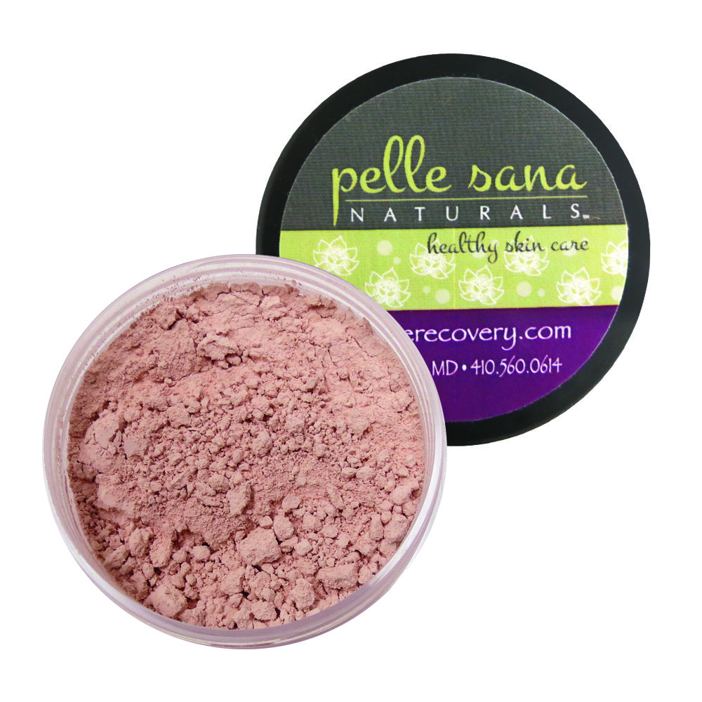 The mineral blush provides a clean and fresh pop of color