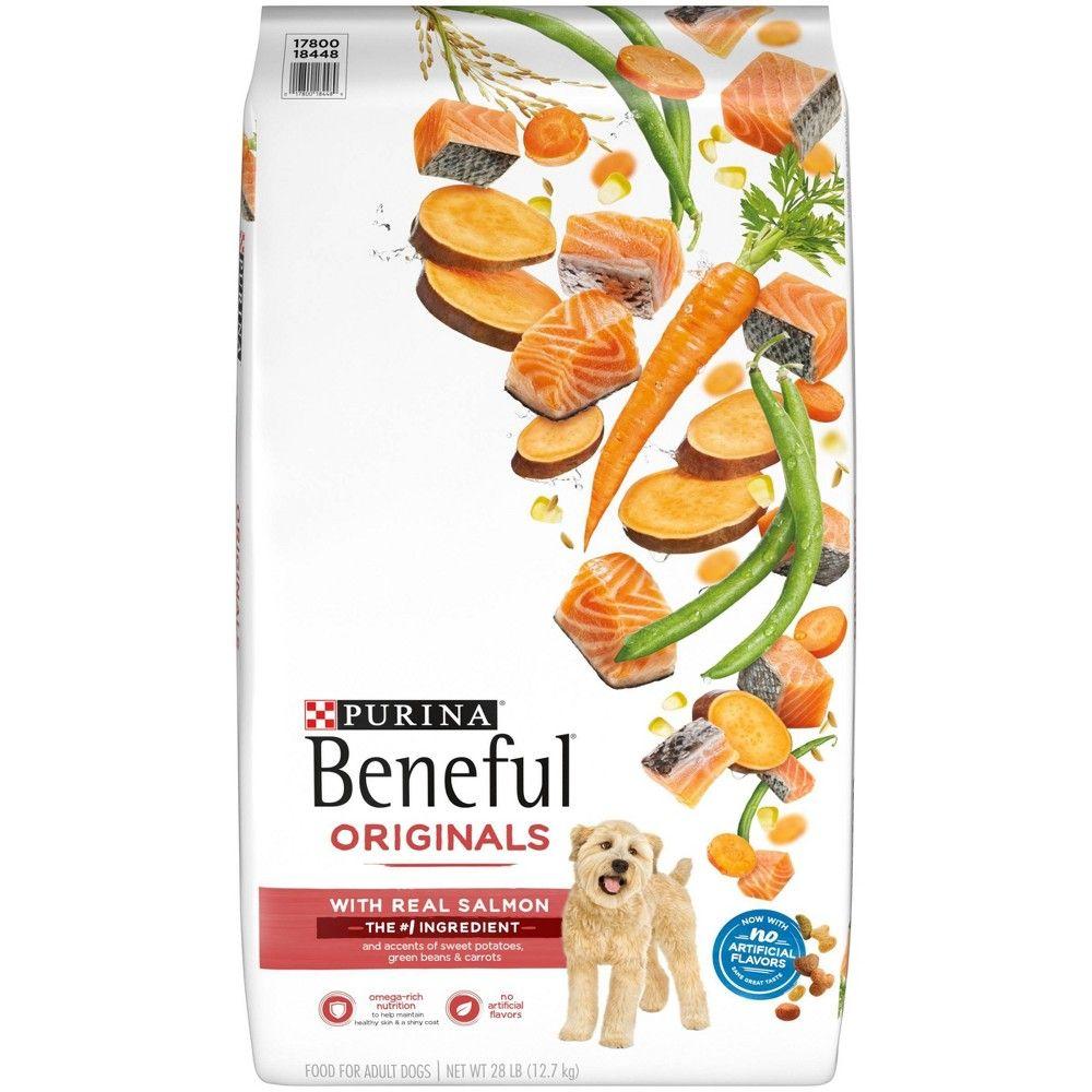 Purina Beneful Dry Dog Food Originals Natural Salmon With Sweet