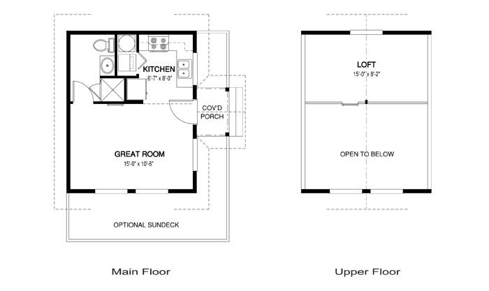 Great Pool House Guest Cottage Gull Floor Plan Add Gas Fireplace To Back Wall Of Livingroom House Plans Tiny House Plans Custom Homes