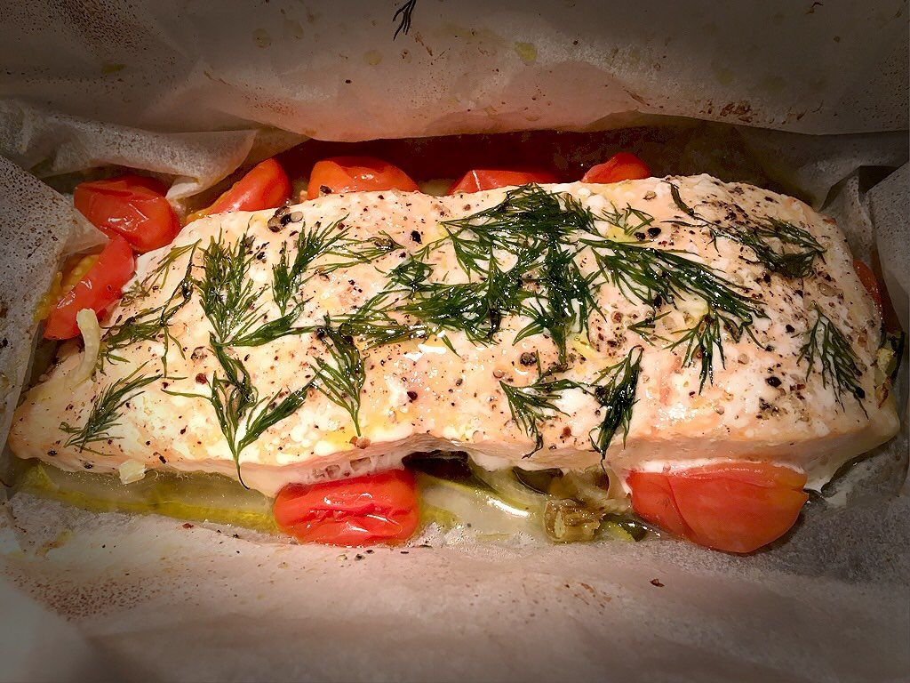 Fish in Parchment — Kate Uncorked