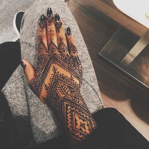 Simple Henna Tattoo Designs Tumblr: Henna Hand Tattoos Tumblr