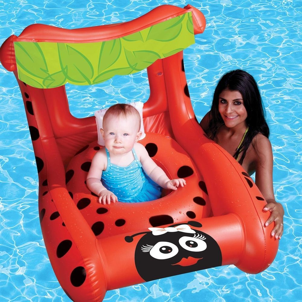 Product details of new inflatable floating swim ring kids children toy - Baby Pool Float Swimming Seat Inflatable Ring Tube Water Aid Raft Rider Boat Toy Babypoolfloat