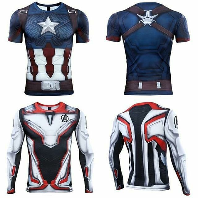 0e1fb30c BRAND NEW AVENGERS ENDGAME T shirts at @gymheroicsapparel. Now 60%  off!Website