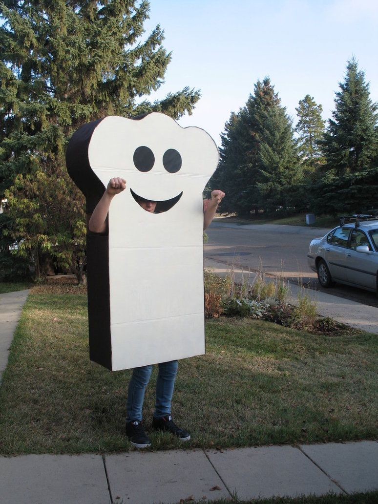 burnt toast halloween costume by thunderinparadise101 on deviantart
