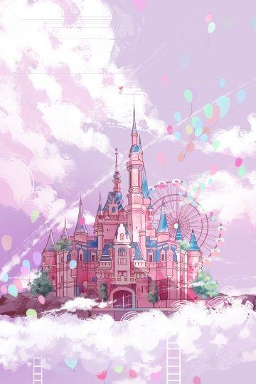 Castle Pink Ladder