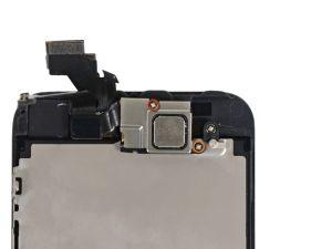 Schritt 1 - Entfernen Sie die zwei Befestigungsschrauben der nach vorne gerichteten Kamera, die ans Display geklammert sind.  Eine 4.1 mm Kreutzschlitzscharaube  Eine 2.2 mm Kreutzschlitzscharaube