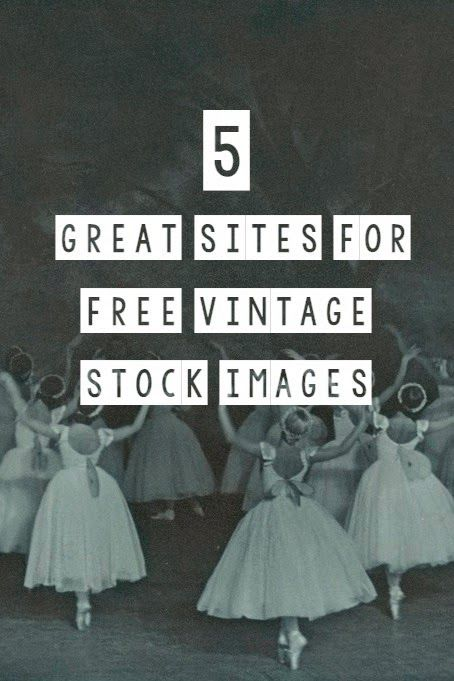 Modern Colors Two: 5 Great Sites for 100% FREE Vintage Stock Images for Your Blog Posts