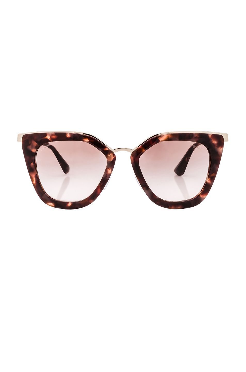 355 - Prada Square Sunglasses in Spotted Brown Pink   accessories ... 793a65d64f