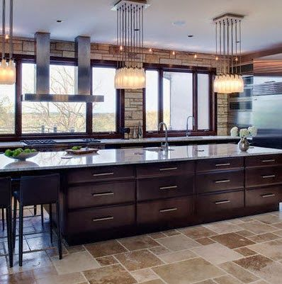 40 diseños de modernas islas de cocina, ideas con fotos | Islas de ...