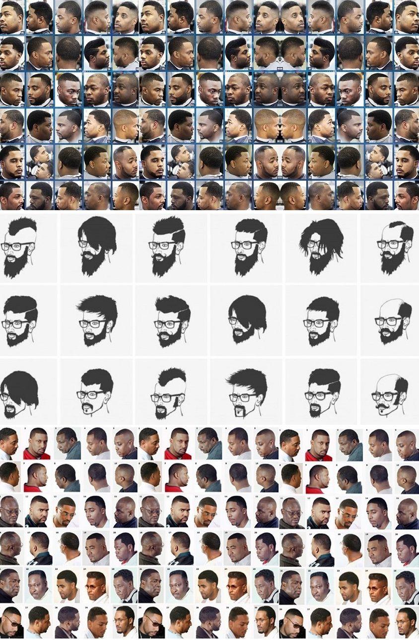 black men haircuts styles chart | hairstyles ideas | pinterest