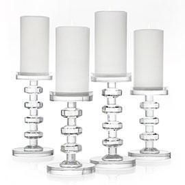 Decor Accessories Cristallo Pillar Holders Z Gallerie Candle Holder Crystal