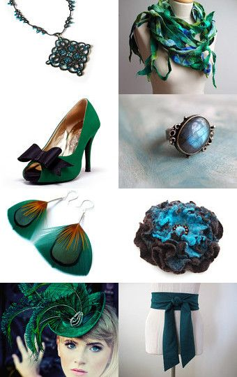 May between green and blue by Agnieszka on Etsy--Pinned with TreasuryPin.com
