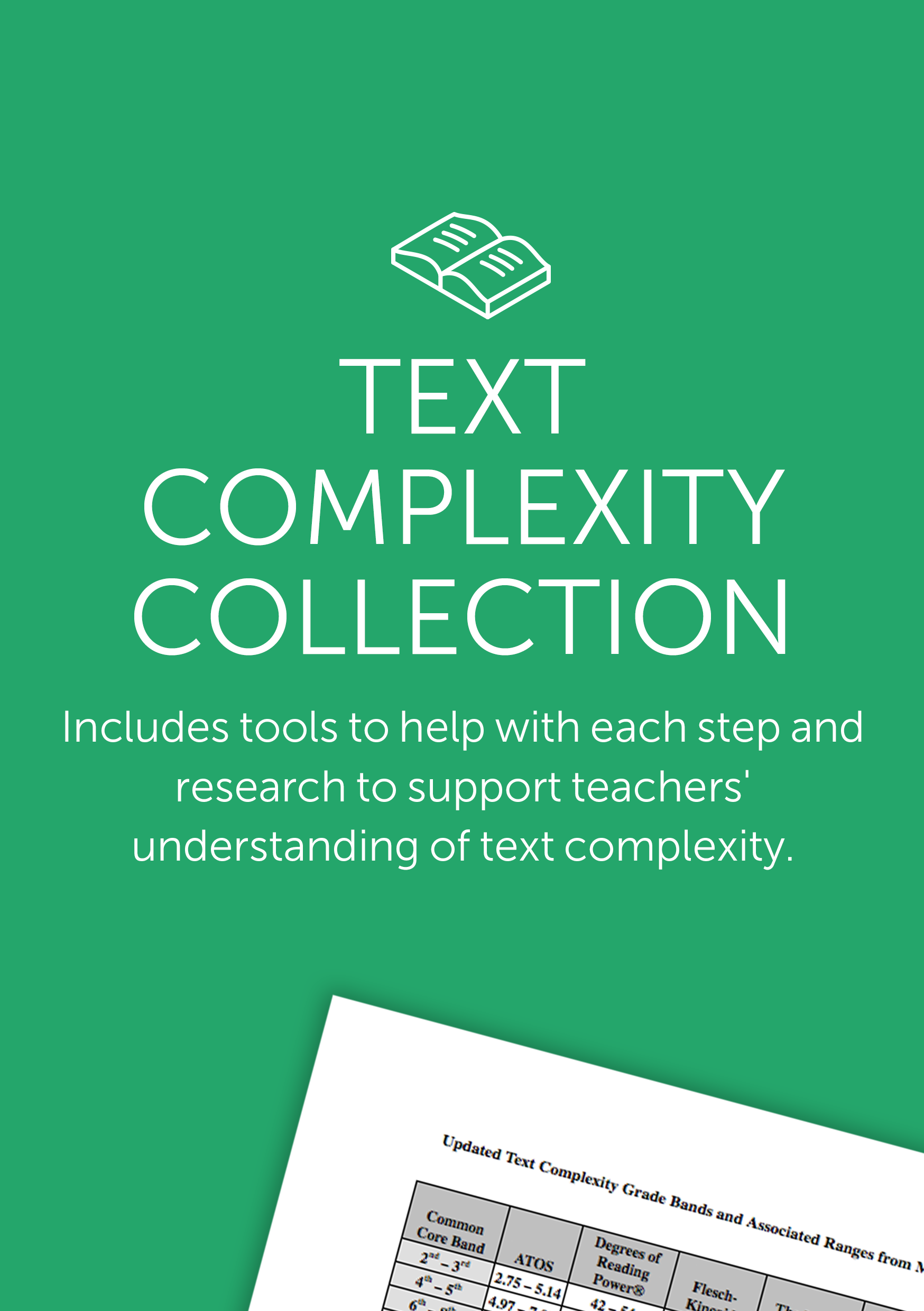 Tools to help understand complex text and introduce it to your students.