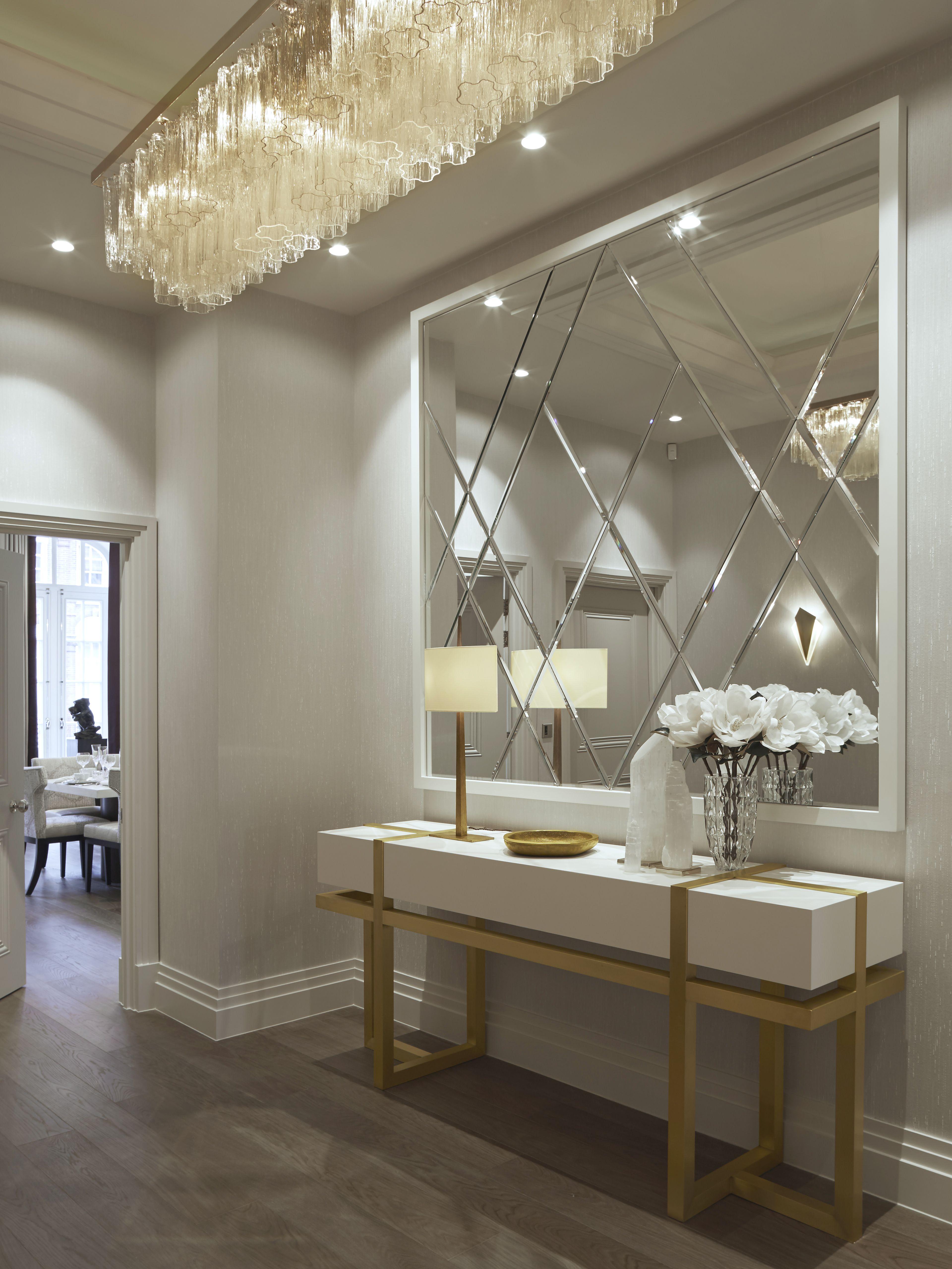 Private Knightsbridge Townhouse Living room design