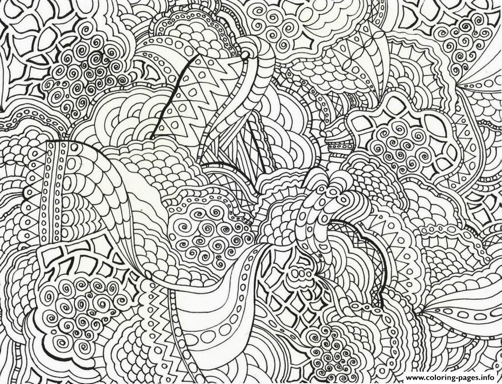 Print Adults Abstract Printable Free Coloring Pages