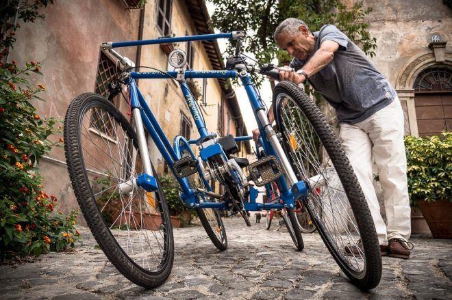 4輪なのに傾いて曲がれる自転車 Duobike ある意味 Tricity えん乗り 自転車 21世紀 世紀