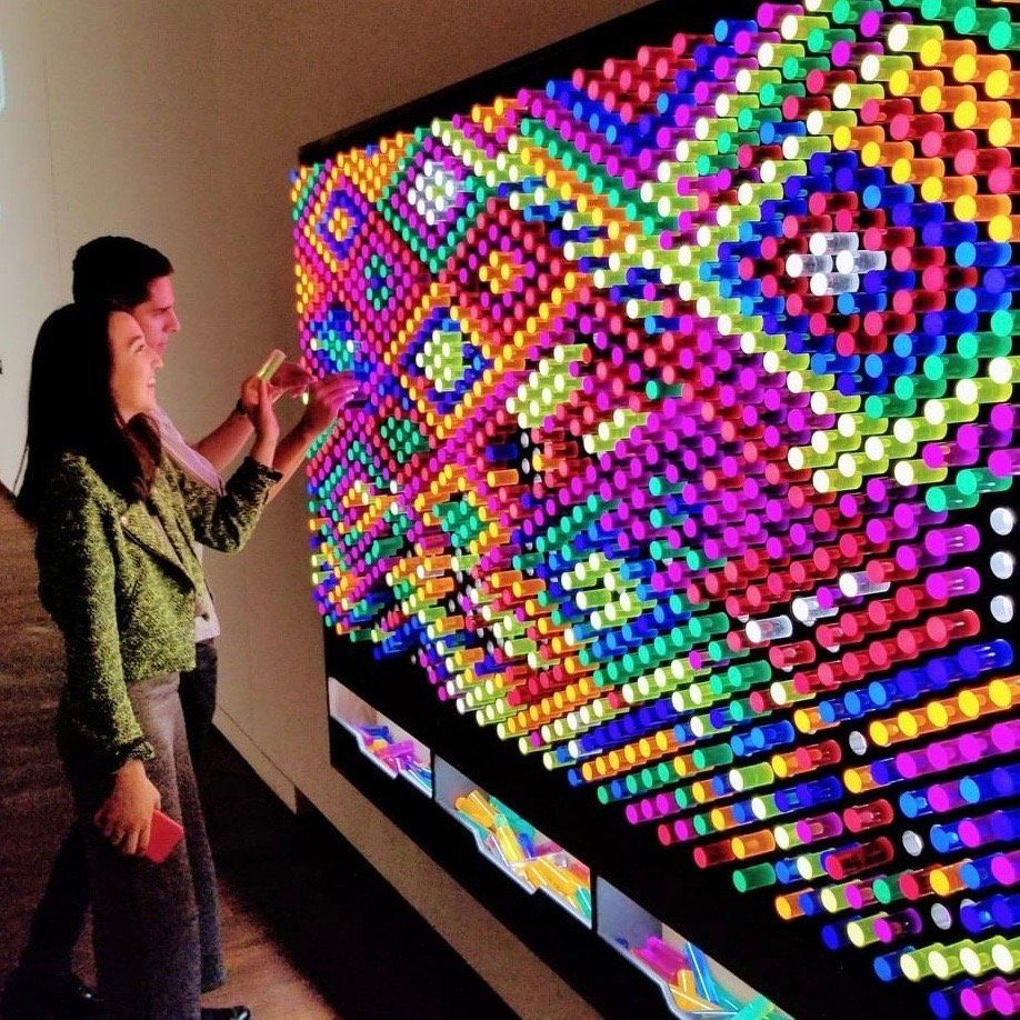 Litezilla Interactive Light Wall Interactive Walls Interactive