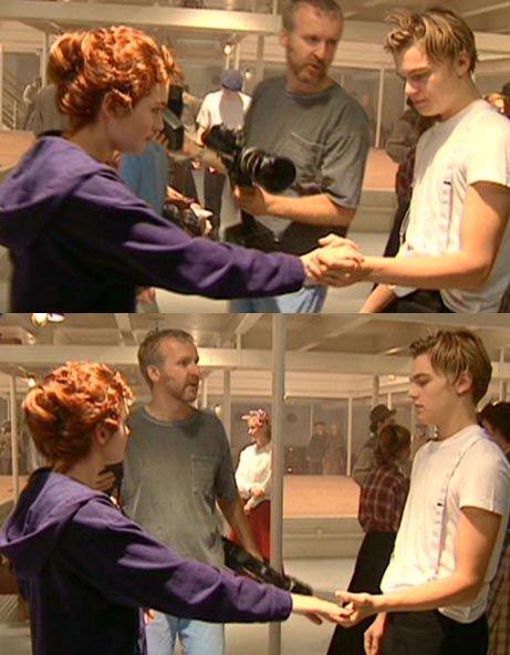 Kate Winslet And Leonardo Dicaprio For Titanic Titanic Behind The Scenes Leonardo Dicaprio Leo And Kate