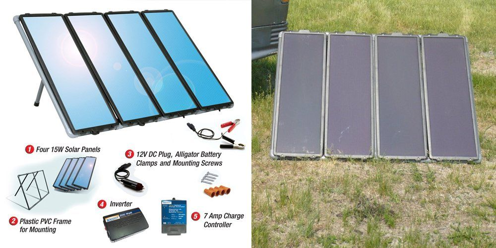 Sunforce 50048 60w Solar Panels Kit For Home Or Rv Solar Panels For Home Solar Panels Solar