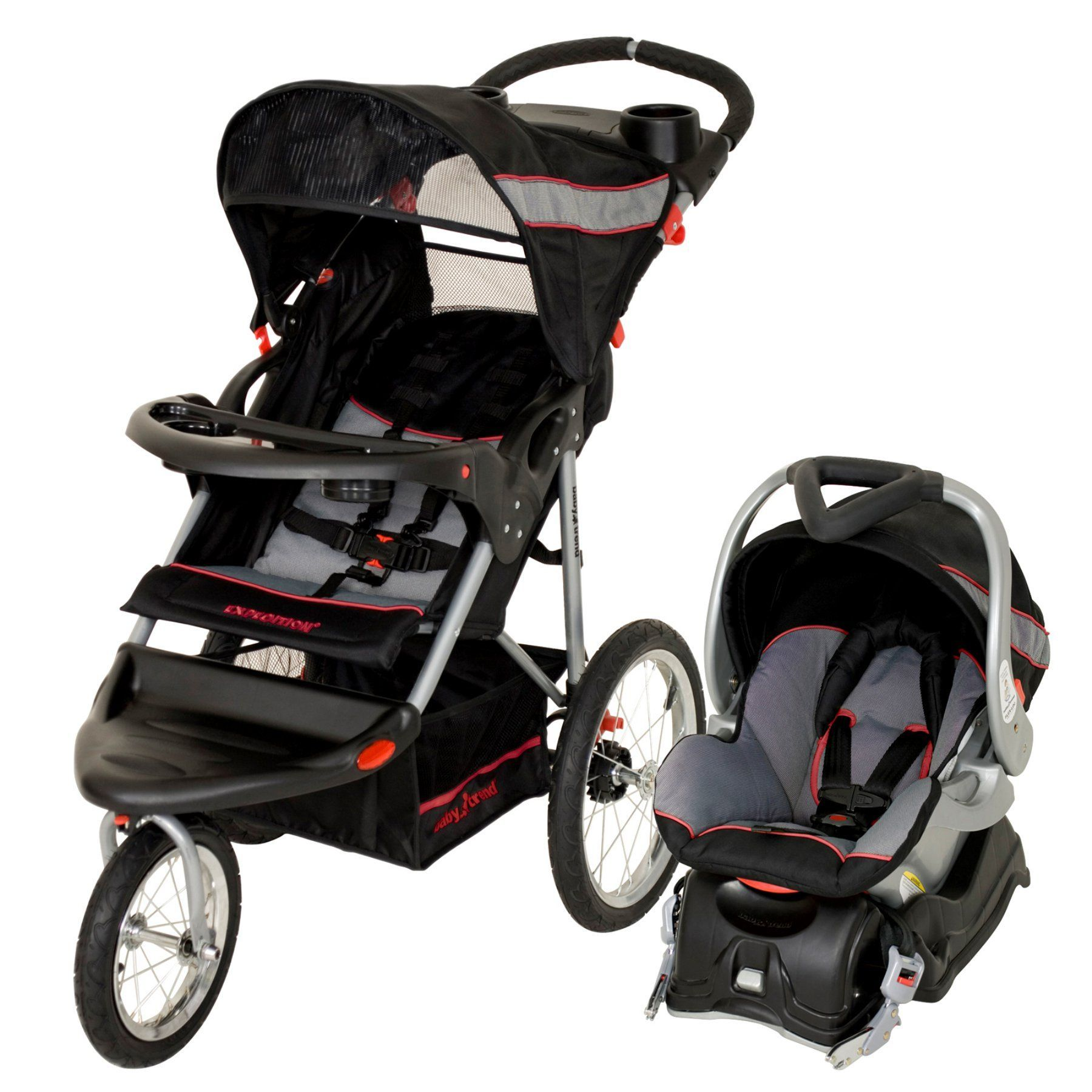 Baby Trend Cityscape Jogger Travel System Vivid Green Baby Trend Expedition Travel System Millennium Tj94773