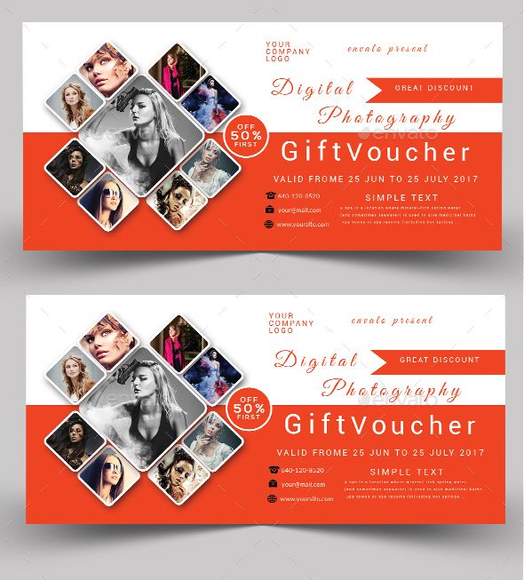 Gift Voucher Template and Print templates