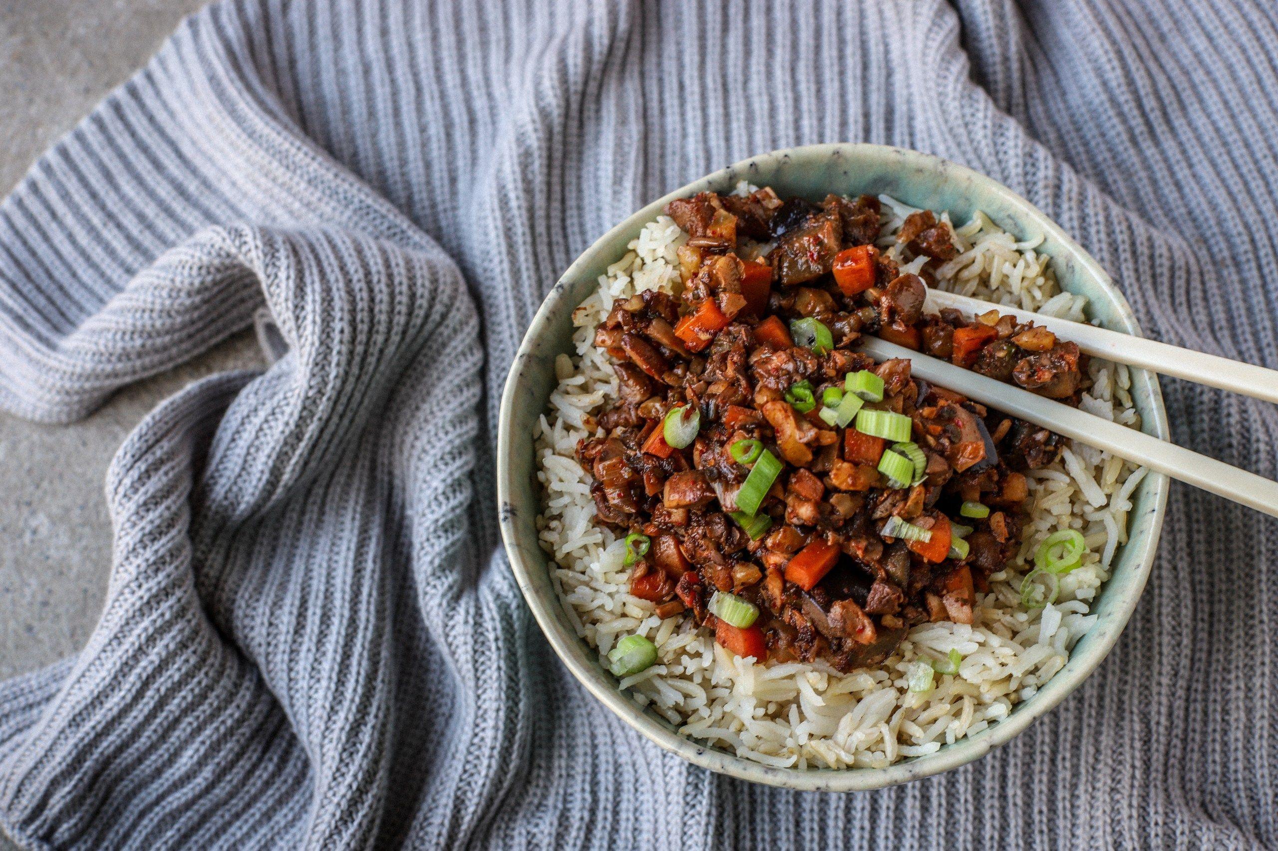 Korean Vegetable Bulgogi {vegan} a healthier recipe