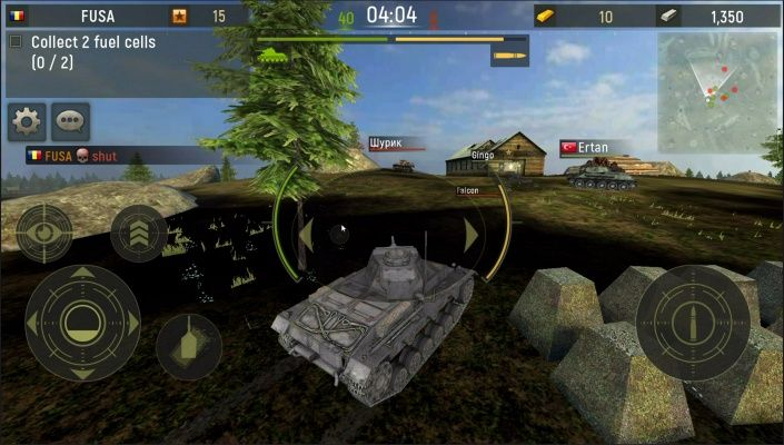 Grand Tanks Tank Shooter Game is a Android Free-to-play Arcade