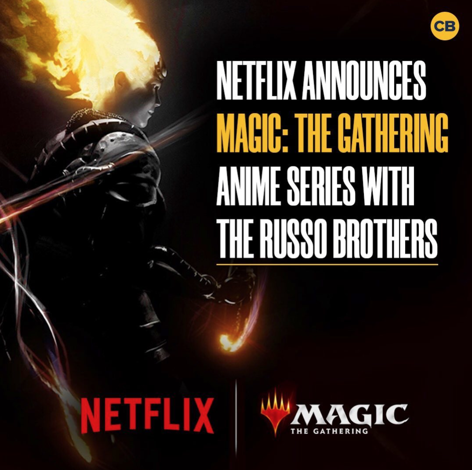 Netflix Announces Magic The Gathering Anime Series with