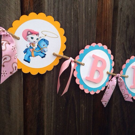 Sheriff Callie Birthday Party Personalized Name Banner