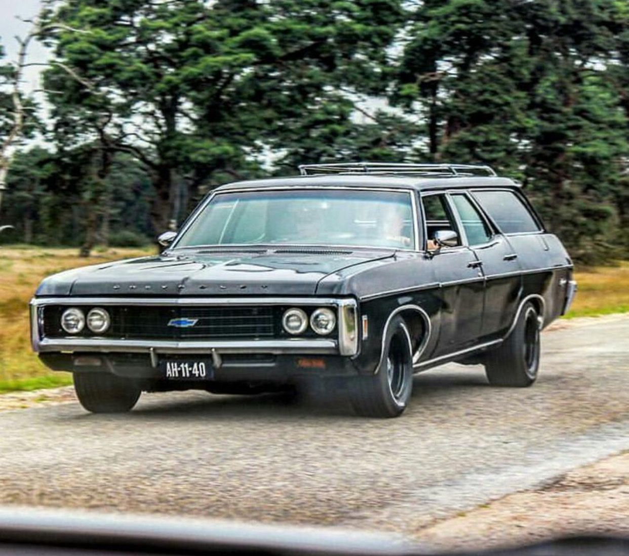 1969 Chevy Impala Kingswood Chevrolet Impala Station Wagon