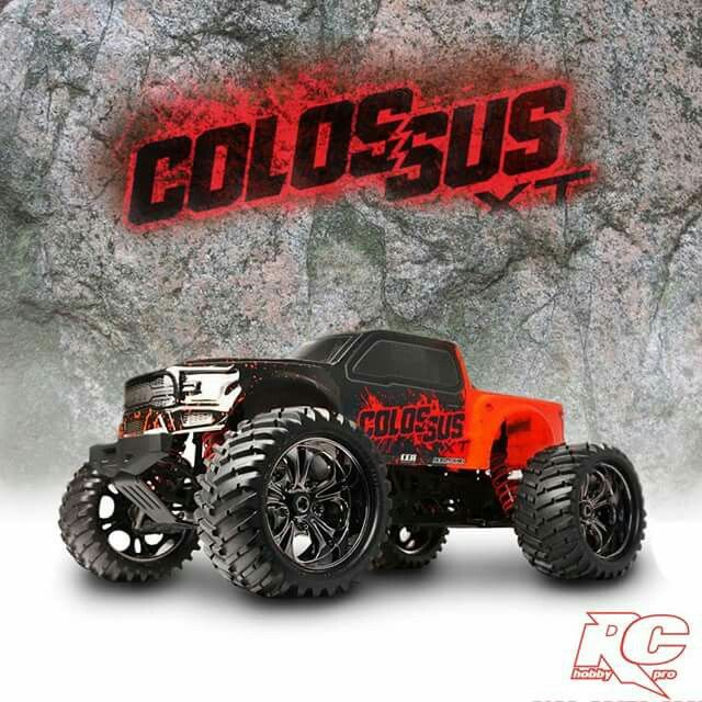 Cen Colossus Reaper 1 7 Rc Monster Truck With Images Monster