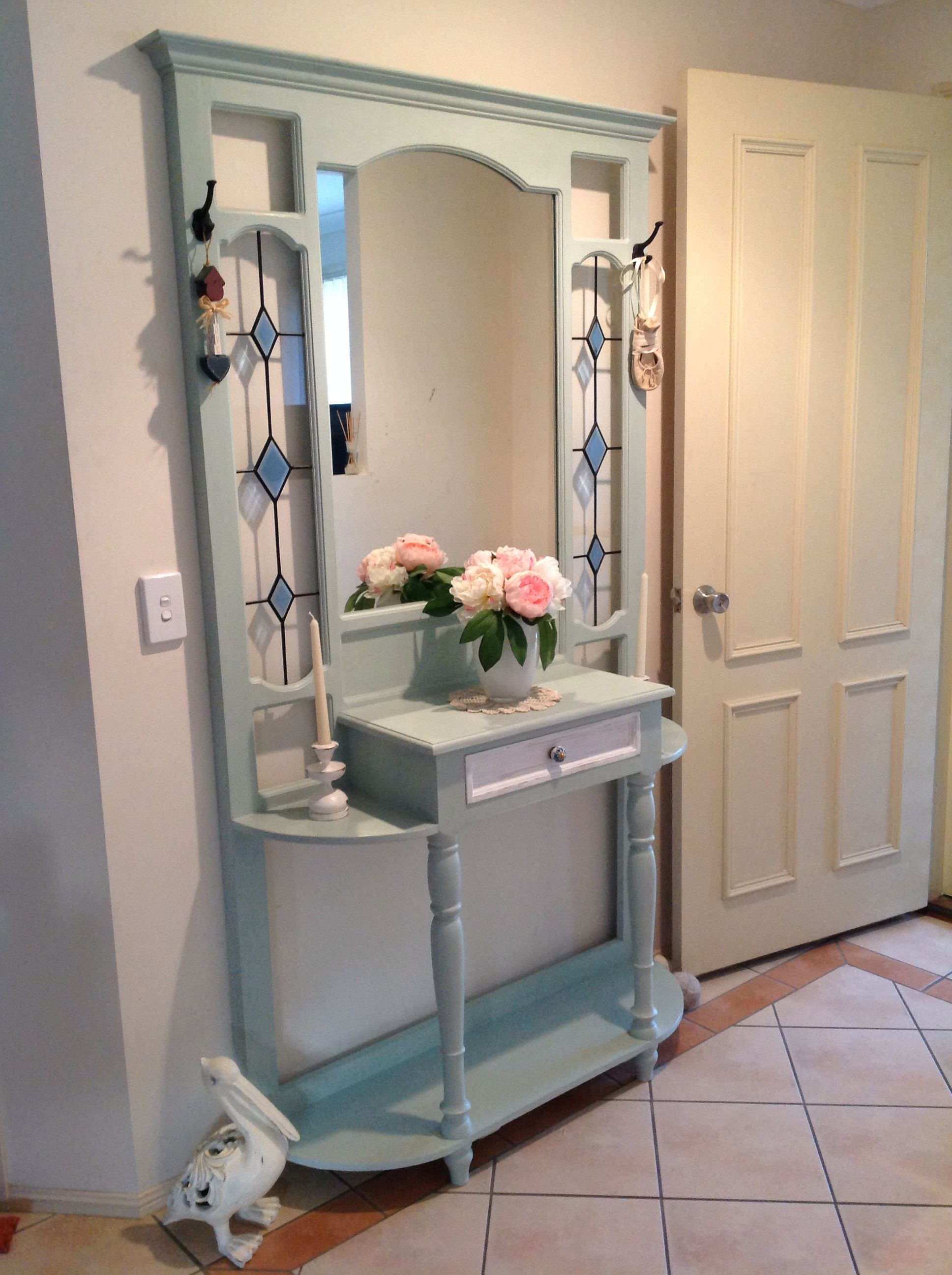 Hall Stand Painted In Annie Sloan Chalk Paint Duck Egg