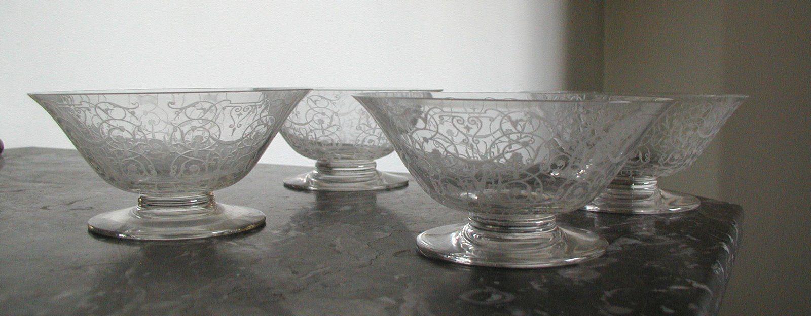 Coupe à Champagne:Michel-Angelo:Baccarat   ーAntique Glasswareー ...