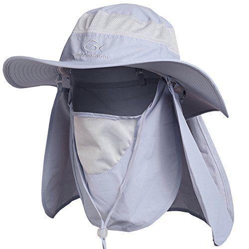 Ddyoutdoor 07 281 Fashion Summer Outdoor Sun Protection Fishing Cap Neck Face Flap Hat Wide Brim Discount Clot Outdoor Sun Protection Flap Hat Outdoor Sun