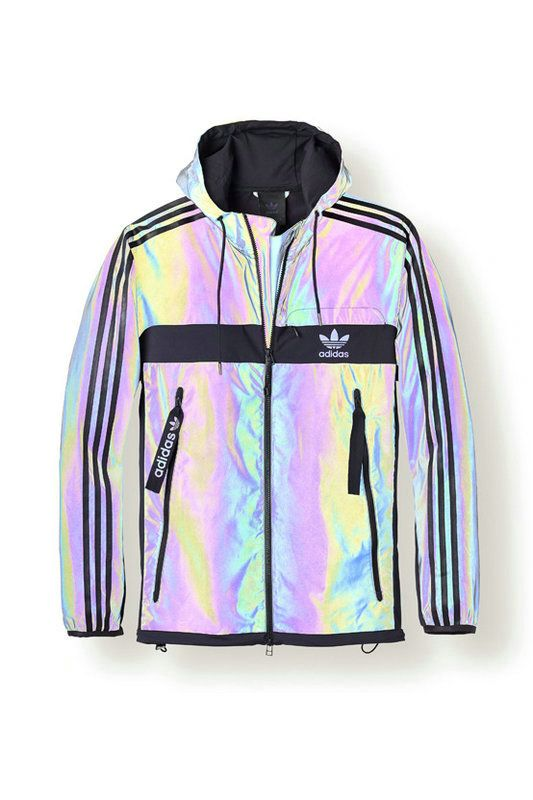Adidas Yeezy Boost 350 | Holographic jacket, Adidas outfit
