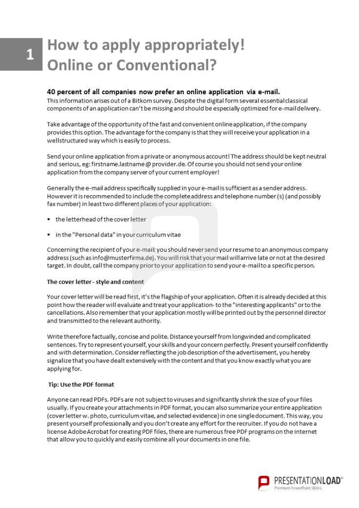 Pin By Presentationload On Job Application Templates Pinterest