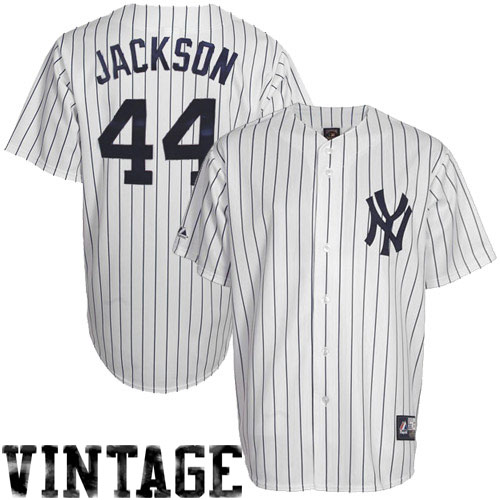 newest collection 3883f 2f694 Reggie Jackson New York Yankees #44 Majestic Cooperstown ...