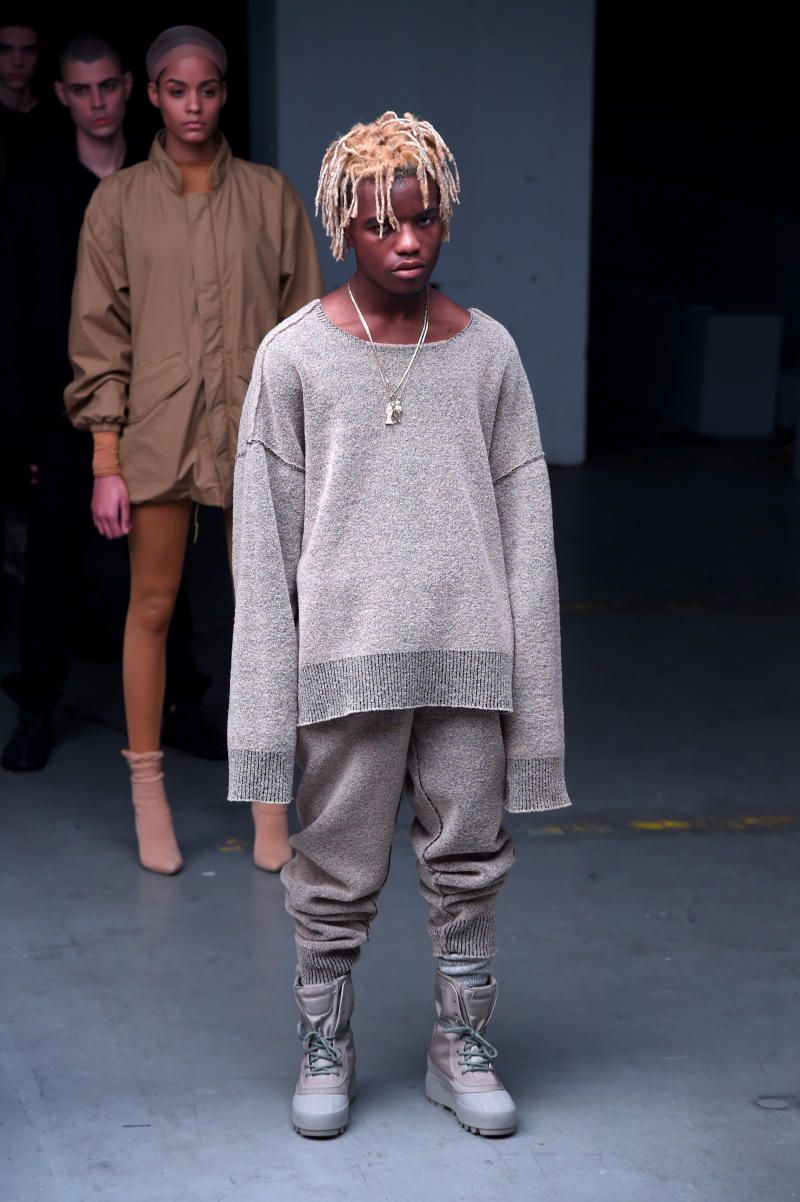 47cba18fa75b1 See pictures from the entire Kanye West x adidas debut collection at New  York Fashion Week.