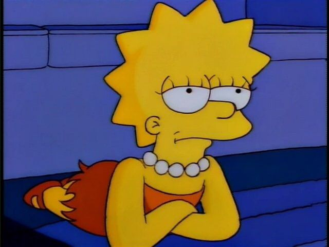 Relatable Pictures of Lisa Simpson: Photo