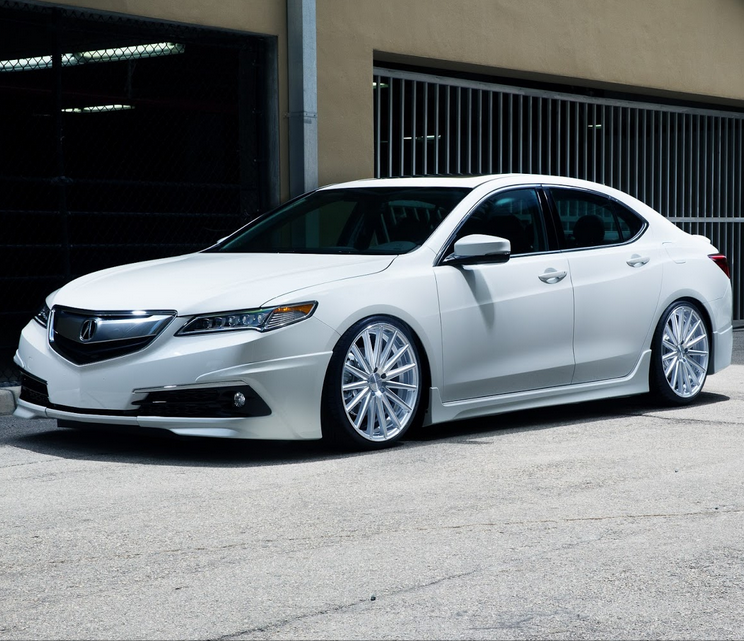 New Acura Tlx: 2015 Acura TLX Sedan Tuned By Pembroke Pines & Vossen