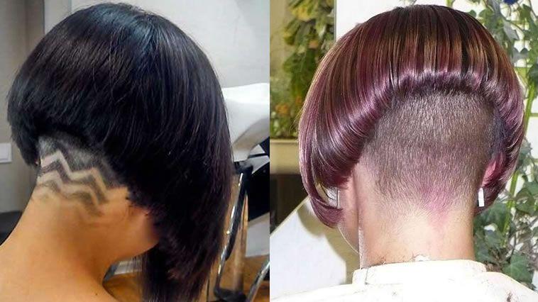 Extreme Nape Rasur Bob Frisuren Und Frisuren Fur Frauen Extreme Frauen Frisuren Rasur Bob Frisur Haarschnitt Bob Coole Frisuren