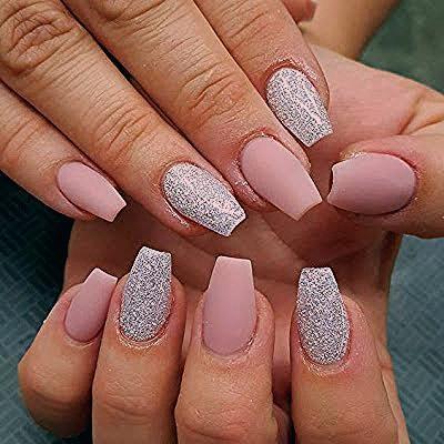 Photo of Wonderful short coffin nails design