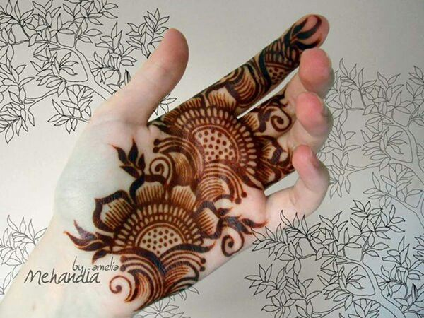 Designs Of Mehndi For Palm : Pin by mamta singh on mehandi designs mehndi