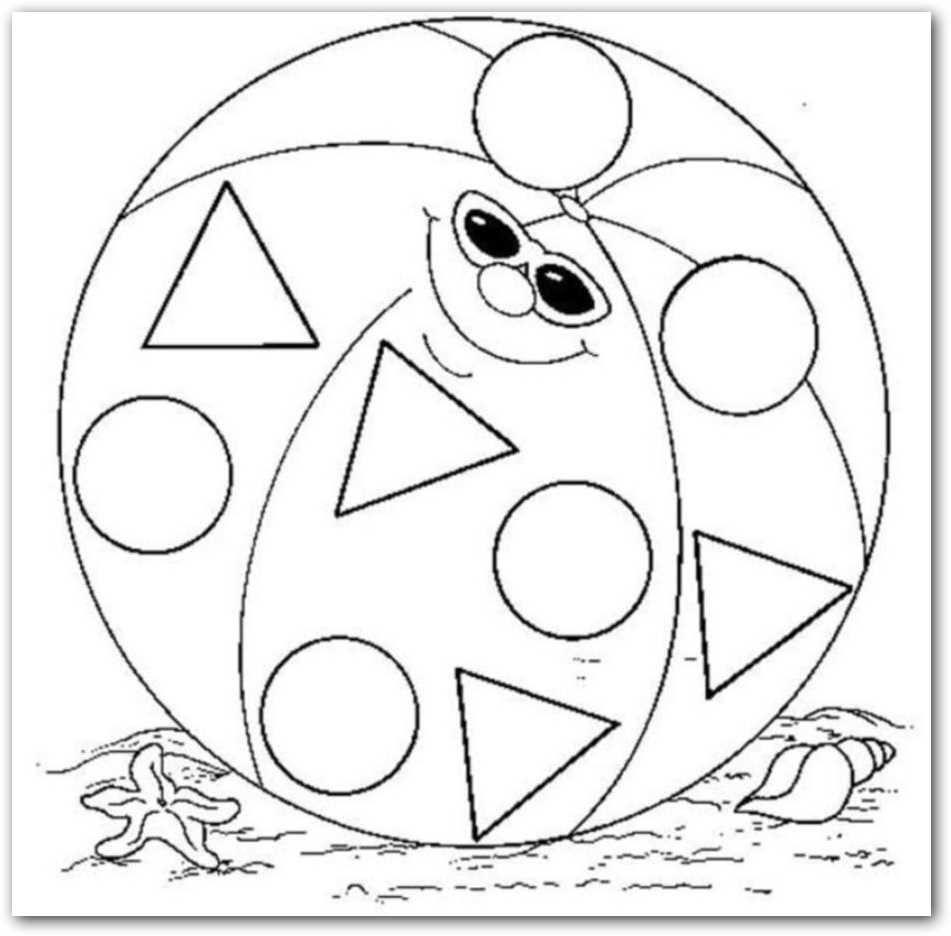 Objetos Con Forma De Triangulo Para Colorear Objetos En