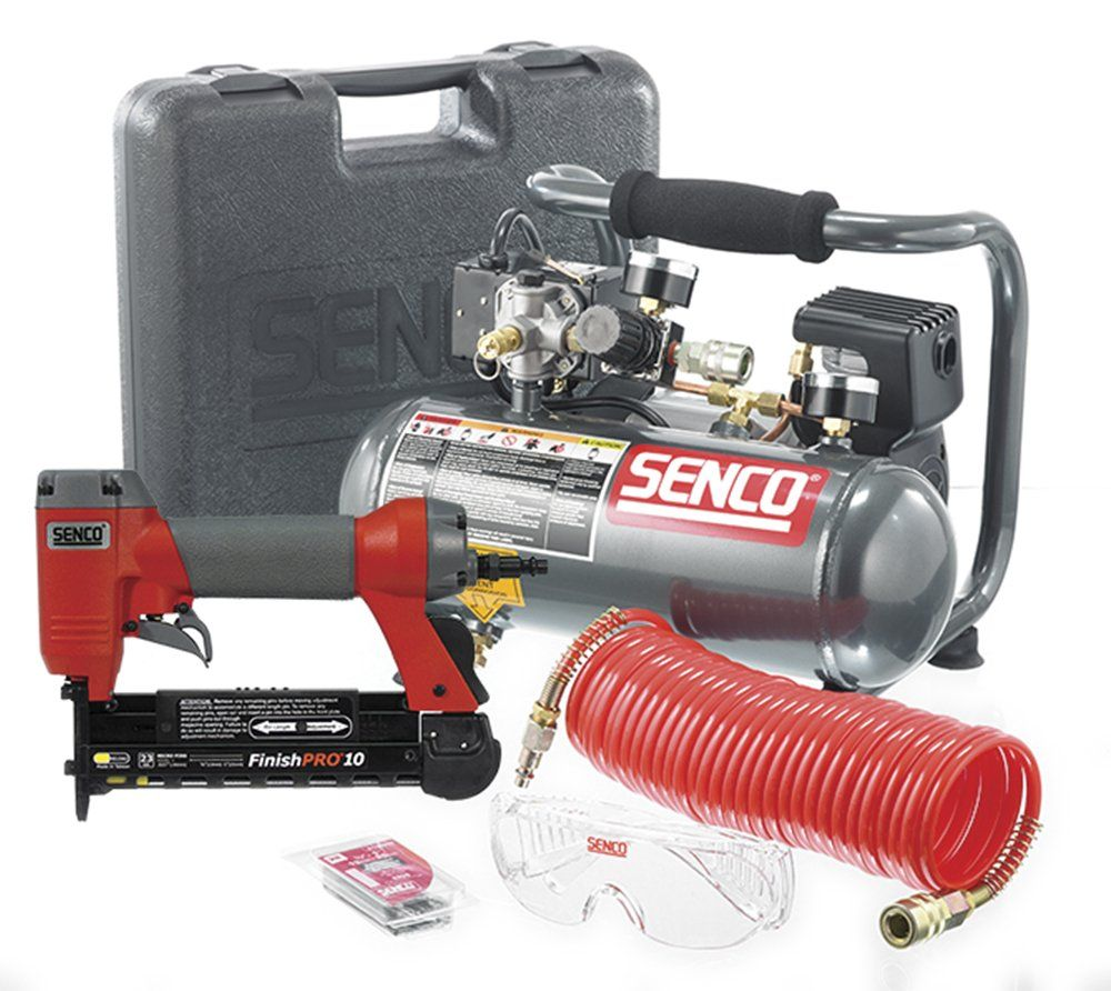 Senco PC0974 Micro Pinner Compressor Combo Kit ** Click